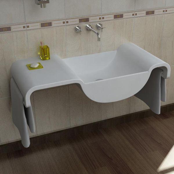 Onda lavabo bagno design moderno