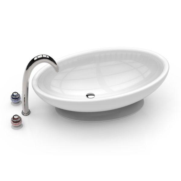 Egg lavabo bagno design moderno
