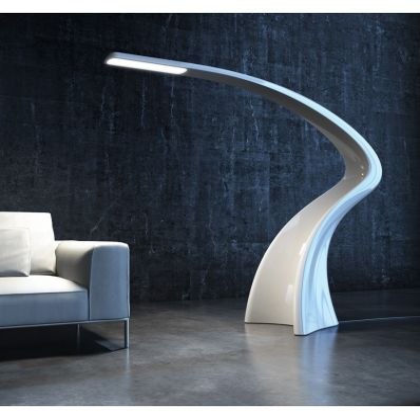 Lumia lampada da terra design moderno