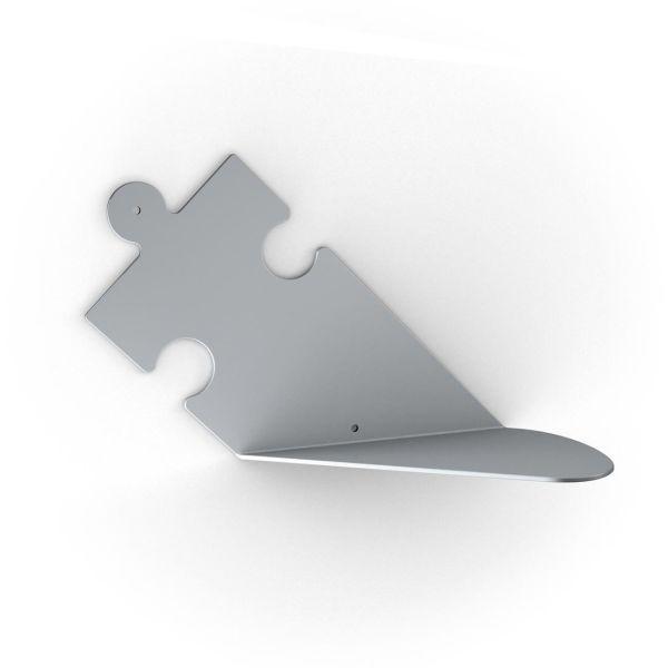 Puzzle mensole moderne in acciaio