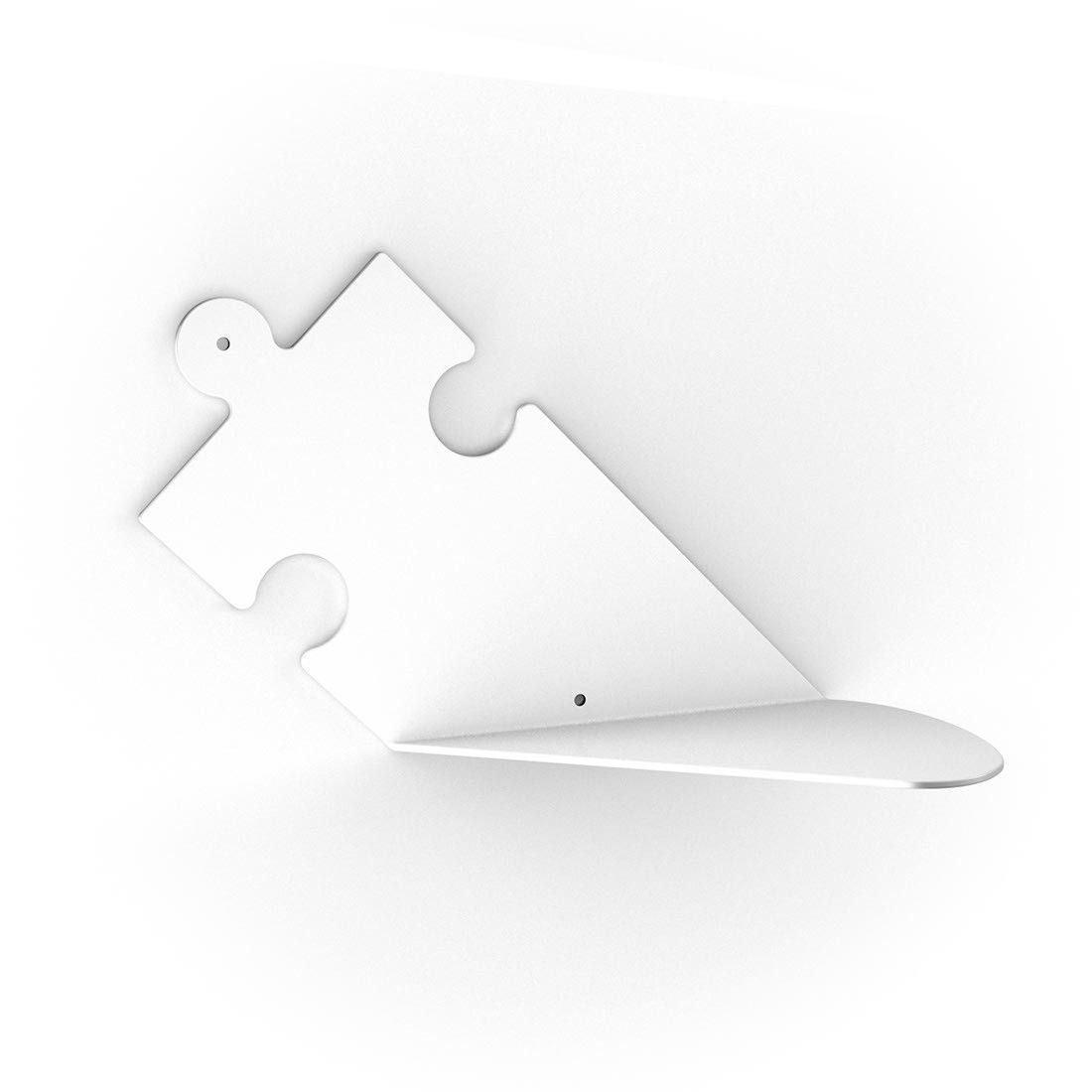 Free puzzle mensole moderne in acciaio with mensole in acciaio for Ikea mensole acciaio