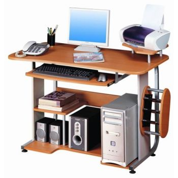 Scrivania moderna per computer Traditional