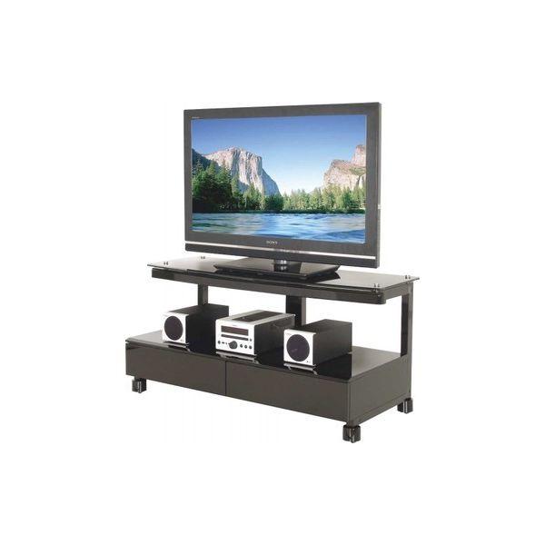 696 porta TV moderno in legno e metallo