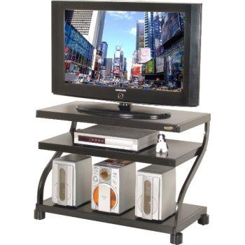 923 porta TV moderno con ripiano in metallo