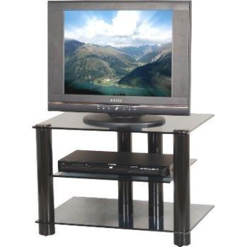 2021 porta TV in metallo con ripiani in vetro