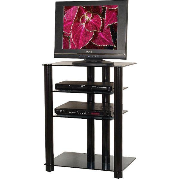 2022 porta TV design in metallo piani in vetro