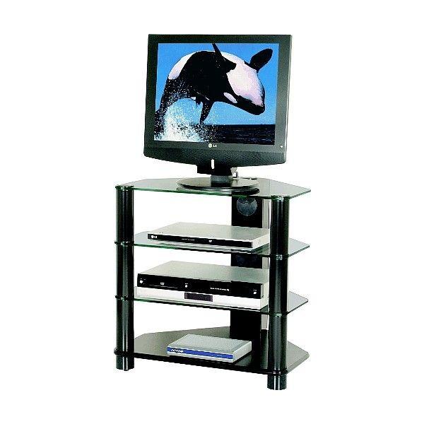 2012 mobile per televisore in metallo piani in vetro - Porta televisore in vetro ...