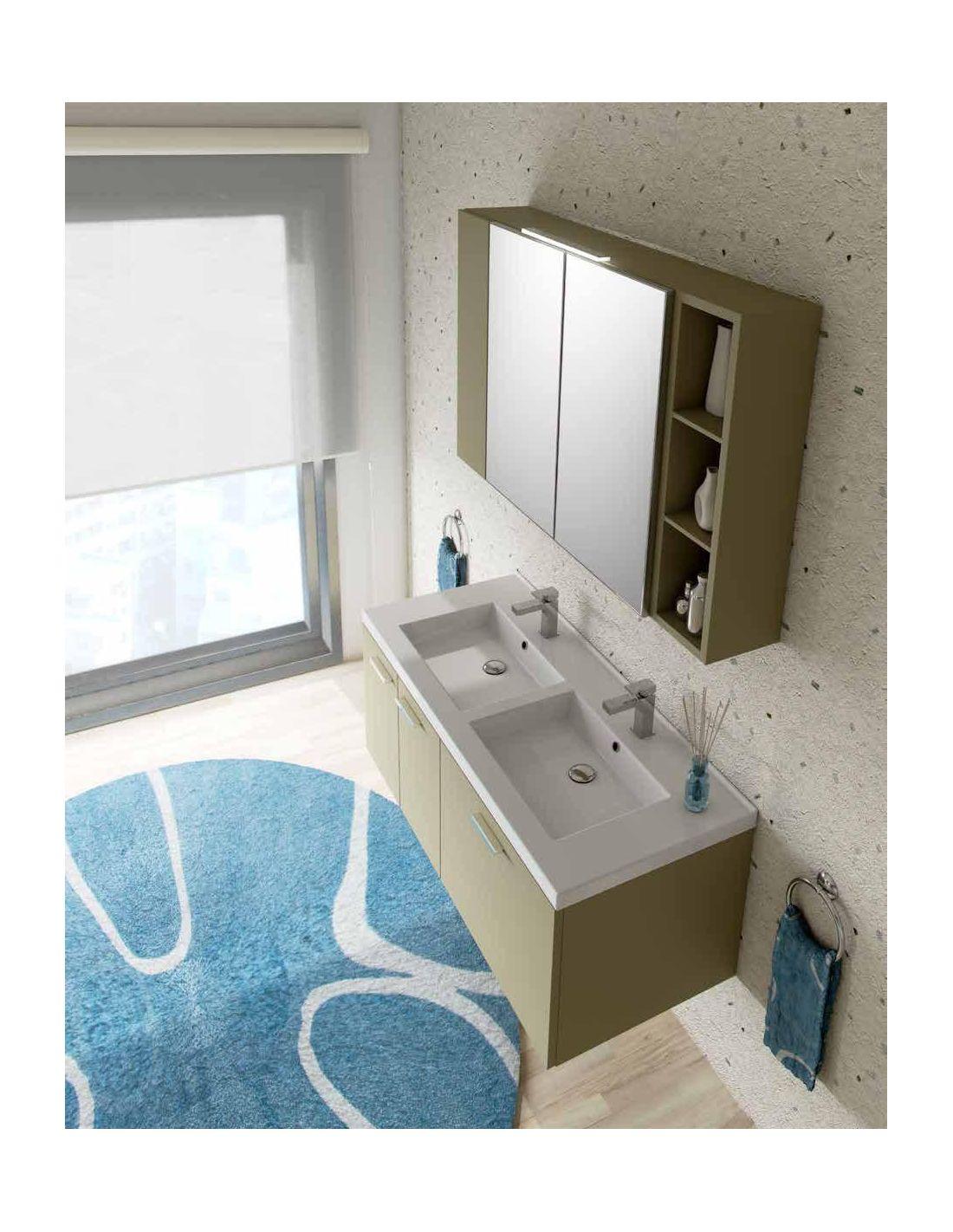 Hope 4 composizione mobili bagno design moderno for Arredamenti lupin