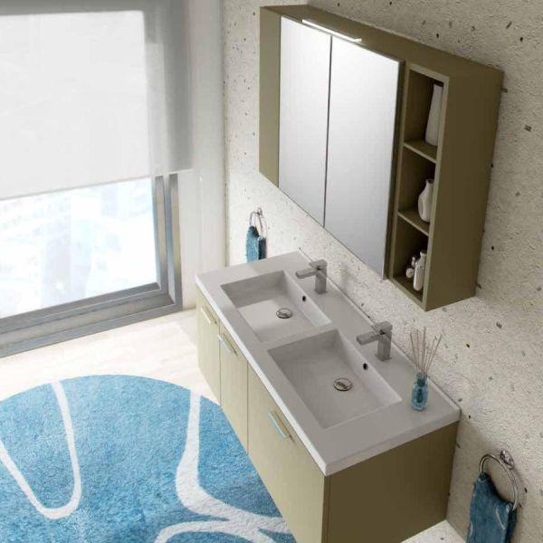 Hope 4 composizione mobili bagno design moderno
