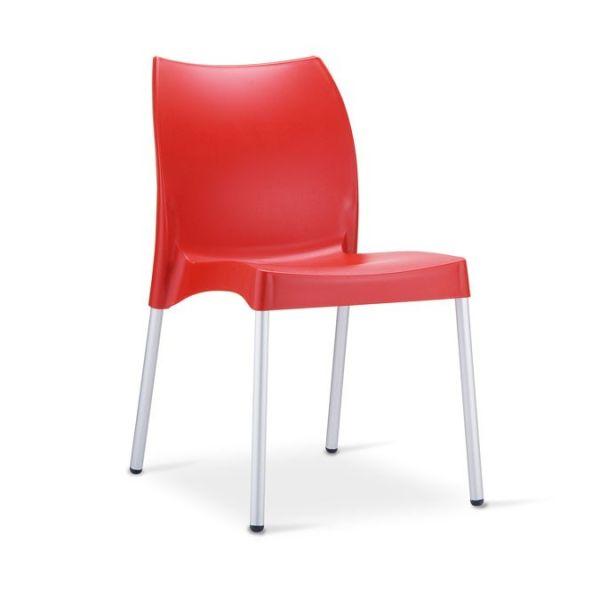 Coppia sedie impilabili per esterno Look