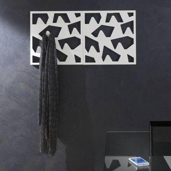 Appendiabiti da parete Forms in metallo 50 x 50 cm