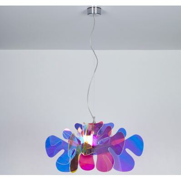 Aralia flash lampadario a sospensione in plexiglass