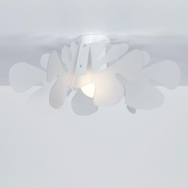 Aralia plafoniera design moderno in plexiglass
