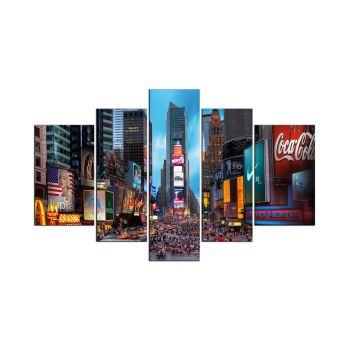 Quadro su MDF Time Square