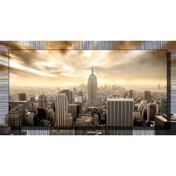 Stampa con cornice Palaces quadro per sopra il letto 77 x 143 cm