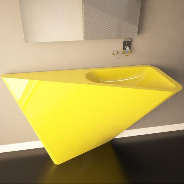 Mullet lavabo bagno moderno in Adamantx