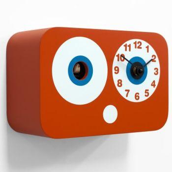 Orologio da parete Cucchino a cucu in legno con sensore