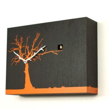 Cucuruku orologio cucu design in legno con sensore di luce