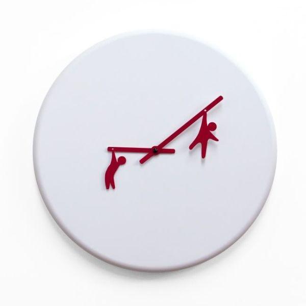 Orologio al quarzo da parete design moderno Time2play