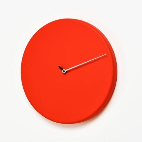 Orologio cucina da parete particolare design moderno Less