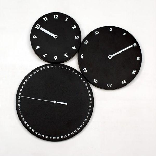 Orologio moderno da parete H:M:S: