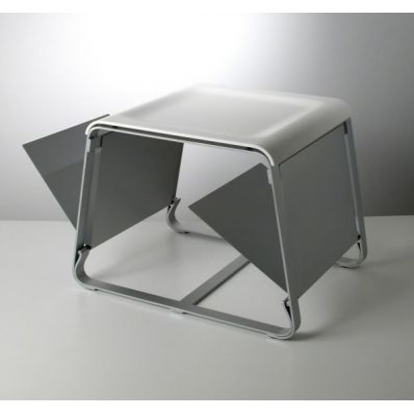 Tavolino con portariviste Flap
