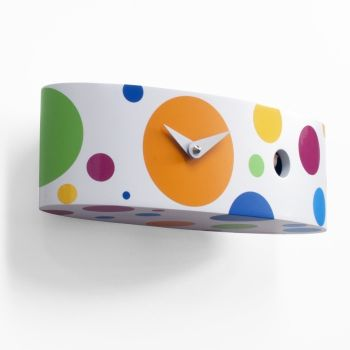 Ellipse orologio cucu parete in legno con sensore luce