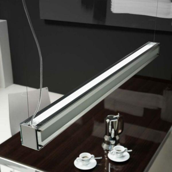 Woody a250 lampadario design a sospensione lungo per - Lampada a sospensione per tavolo pranzo ...