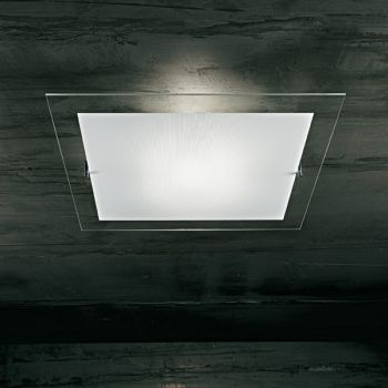 Minimal E260 lampadario da soffitto a LED in cristallo extrachiaro