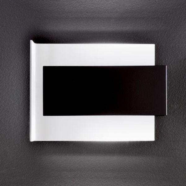 Applique a LED da parete design moderno in acciaio Tao D700