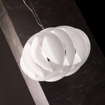 Actarus lampadario a sospensione in plexiglass 50 x 35 cm