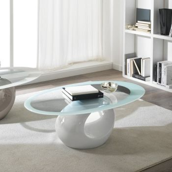 Tavolino da salotto in fibra di vetro - Tavolini soggiorno design