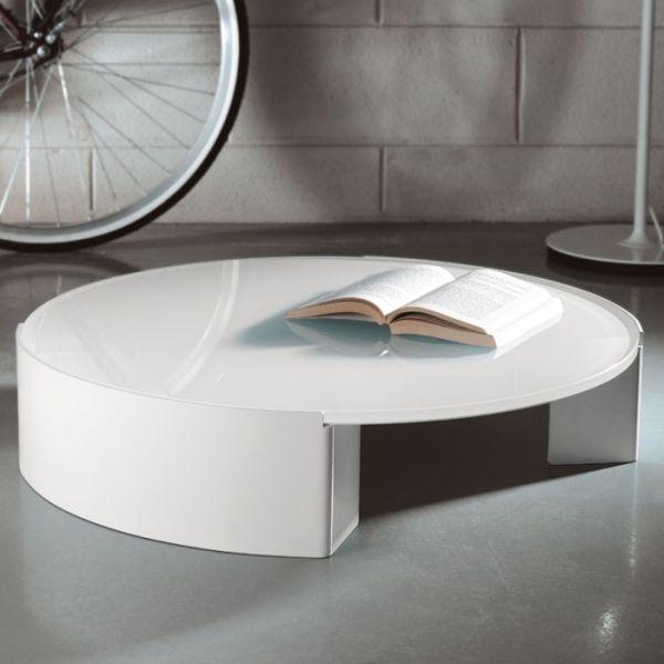 Tavolini vetro moon tavolino da salotto design moderno for Tavoli moderni da salotto
