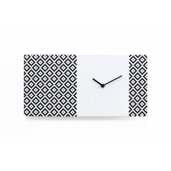 Orologio a muro design moderno in legno Partner