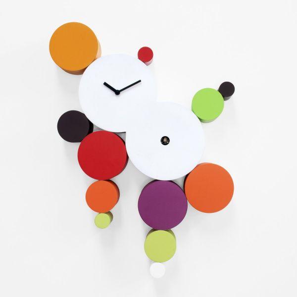 Orologio cucù da parete design moderno Cucuball