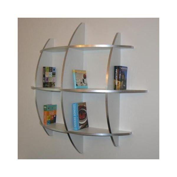 Libreria da parete sferica design moderno Guidus