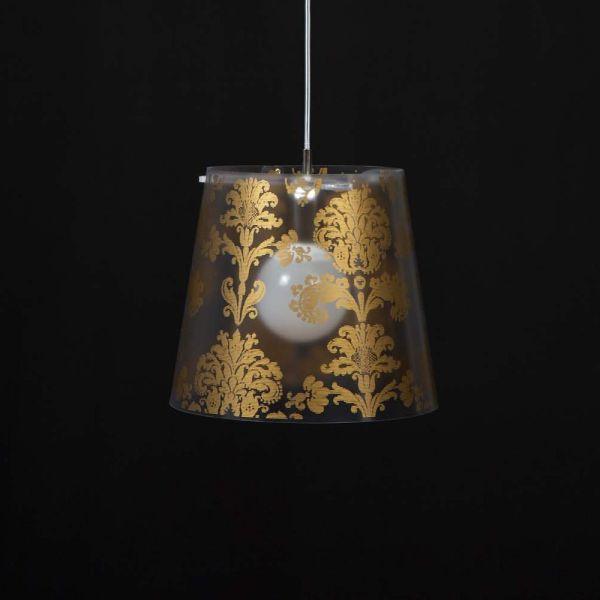 Lampadario a sospensione di design oro o argento Babette