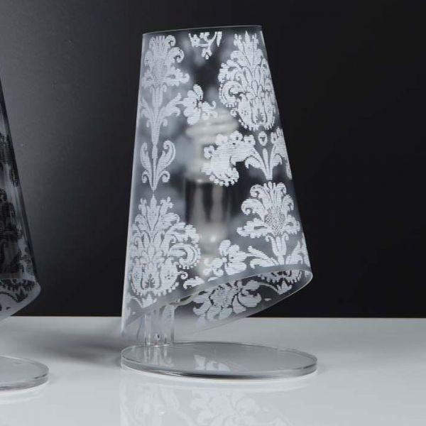 Abat jour moderno babette lampada da comodino moderna design per camera letto ebay - Bajour per camera da letto ...