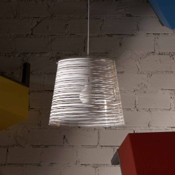 Lampadario a sospensione Pixi design moderno 42 cm