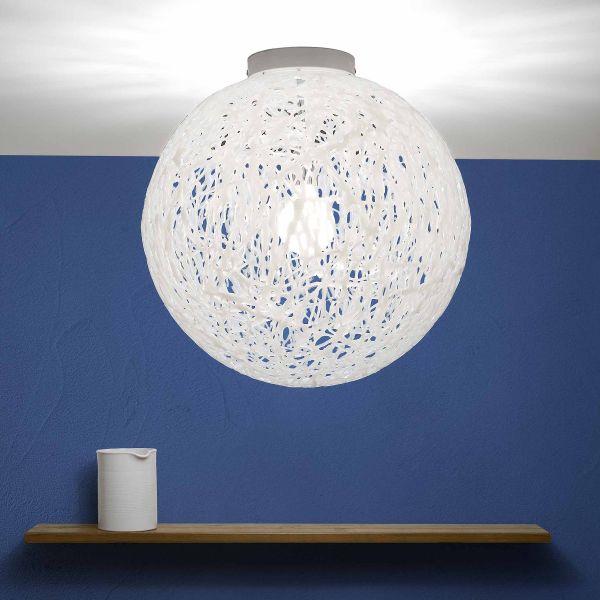 Plafoniera da soffitto design moderno in plastica Reload