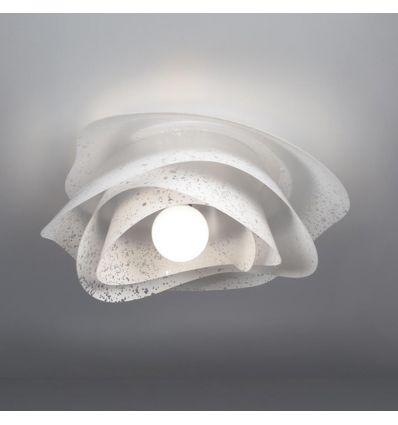 Applique plafoniera da soffitto design moderno Rosa
