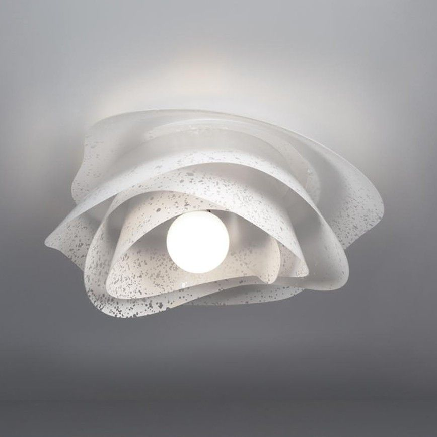 Applique plafoniera da soffitto design moderno rosa for Immagini lampadari moderni