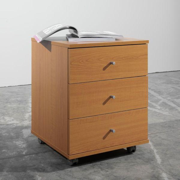 Cassettiera in legno per ufficio One