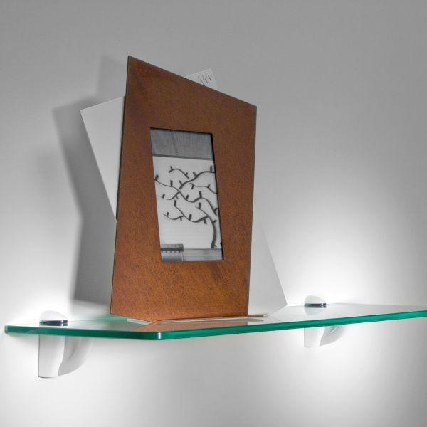 Mensole in vetro per soggiorno cucina bagno Linea