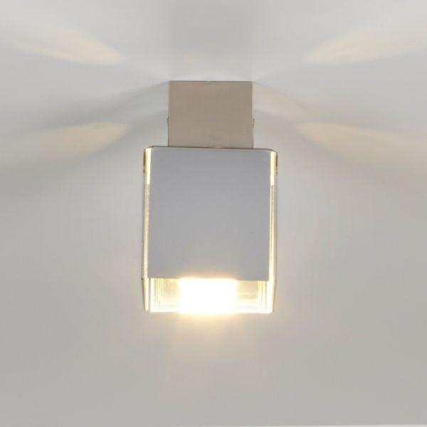 Lampadario da soffitto design moderno in plexiglass DidoDado Cromo