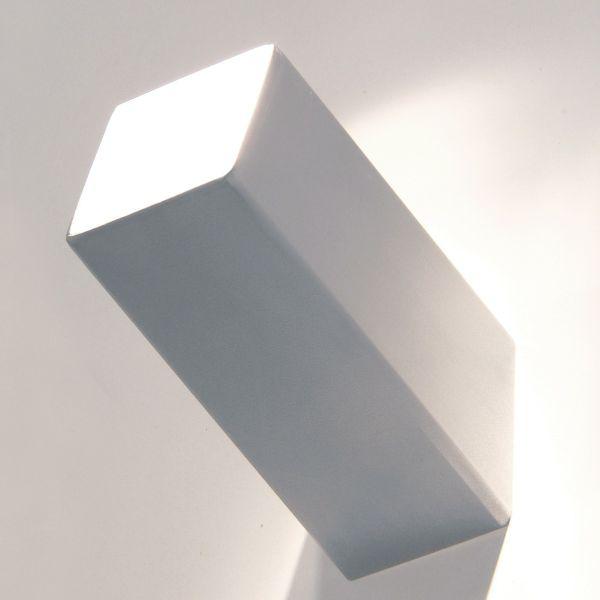 Appendiabiti da parete in acciaio satinato o lucido Cube