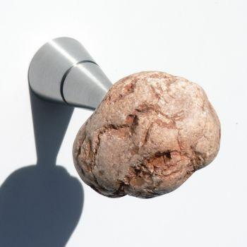 Attaccapanni Stones Zafferano design moderno in pietra naturale