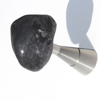 Attaccapanni Stones Asfalto da parete con sasso naturale