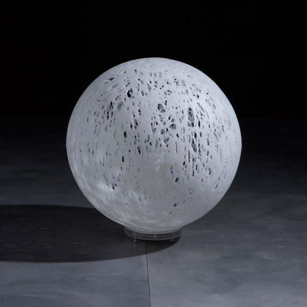 Lampada da esterno design in plastica bianca o multicolor Reload