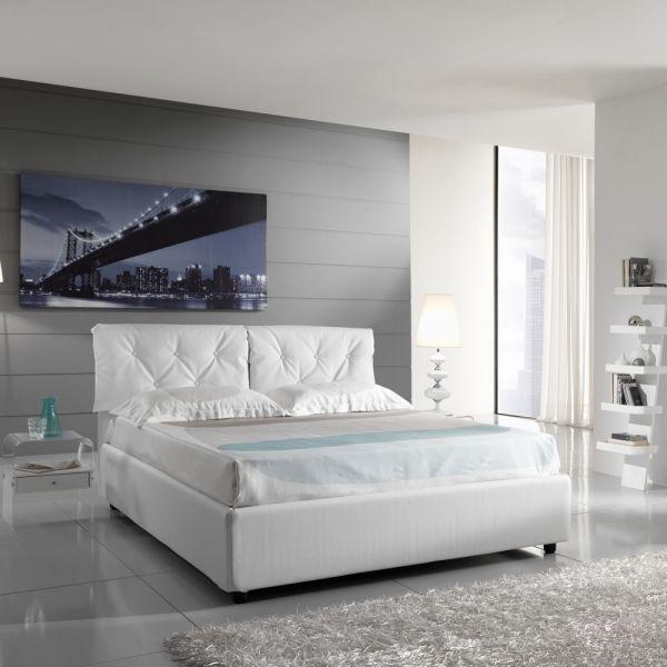 Dolphy letto moderno matrimoniale fisso o con contenitore - Primo letto corredo ...